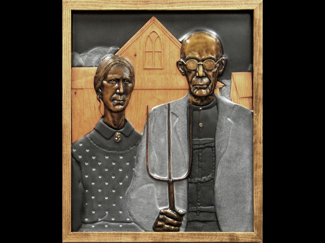 American Gothic - Iowa Department for the Blind